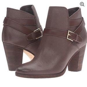 Cole Haan Brown Hayes Strappy Ankle Bootie
